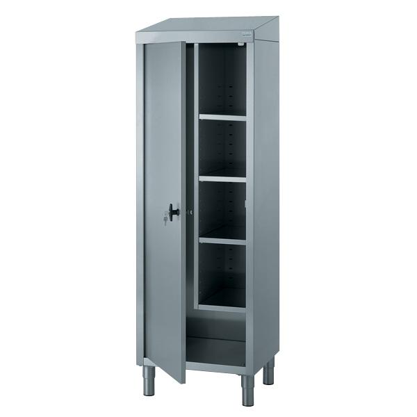 tournus equipement armoire haute en inox. Black Bedroom Furniture Sets. Home Design Ideas