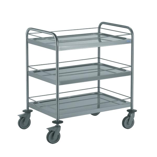 tournus equipement notre chariot inox de service. Black Bedroom Furniture Sets. Home Design Ideas