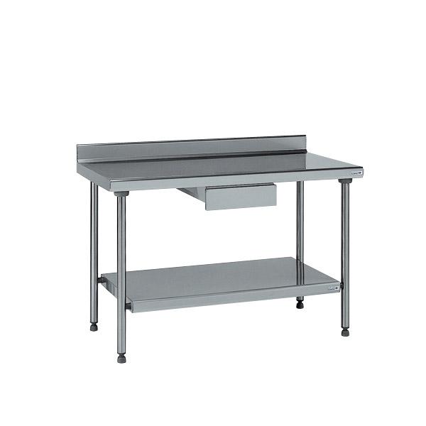 2 Tables Inox Tournus équipement